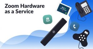 Zoom lança programa de HaaS (hardware como serviço) nos EUA