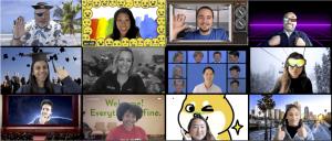 Filtros, reações, iluminação e muito mais! Novos recursos para animar suas reuniões